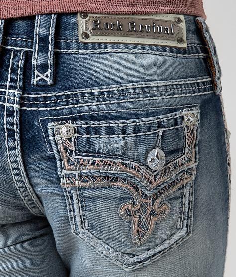 Rock Revival Betty Skinny Stretch Cropped Jean - Women's Crops/Capris | Buckle