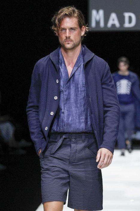 Giorgio Armani, Primavera/Estate 2018, Milano, Menswear