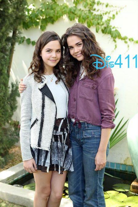 Maia Mitchell & Bailee Madison
