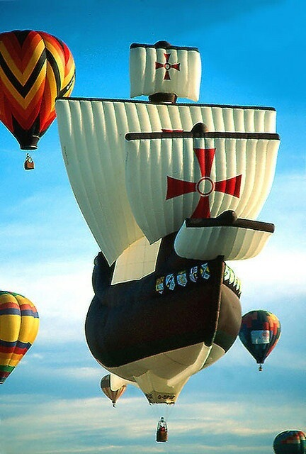 PIRATE'S SHIP...HOT AIR BALLOON