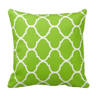 Key Lime Green Villa Print Throw Pillows - Green Throw Pillows *Fresh inventory added to site, visit www.prettythrowpillows.com to see all of our green throw pillows