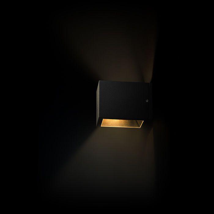 CABOX | rendl light studio | Bidirectional outdoor wall light. Suitable for E27 halogen light sources. #light #garden #wall #bidirectional