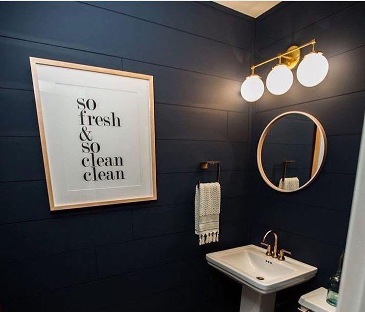 Best 25 Navy Bathroom Ideas On Pinterest Decor Blue Decor Fascinating Blue And Bathroom Blue Decor Fasc In 2020 Navy Bathroom Gray Bathroom Decor Blue Bathroom