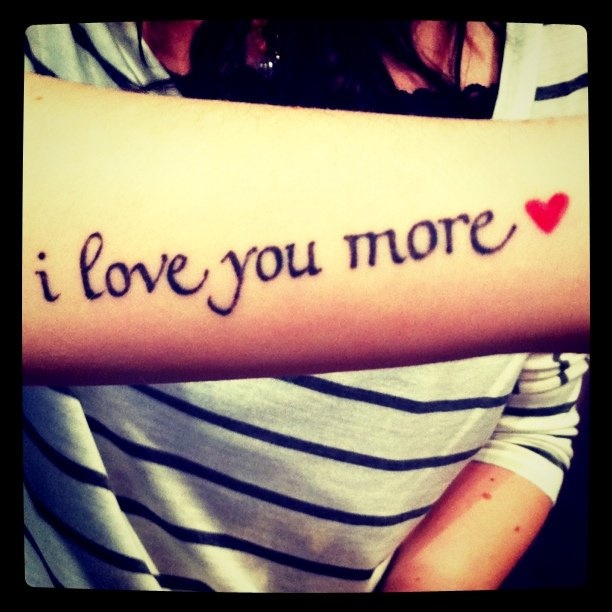 I Love You More Tattoos: 17 Best Images About Tattoo On Pinterest