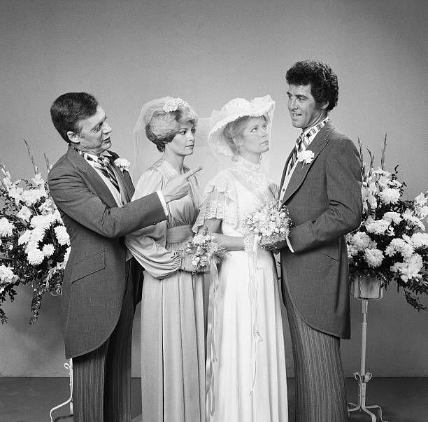 LIVES 'Marlena Evans and Don Craig Wedding' Pictured Edward Mallory as William 'Bill' Horton Andrea Hall as Samantha Evans Deidre Hall as Marlena...