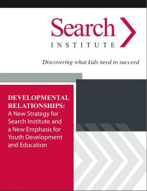 """The Search Institute. A leader in research on developmental assets and igniting """"sparks"""" in children and youth."""