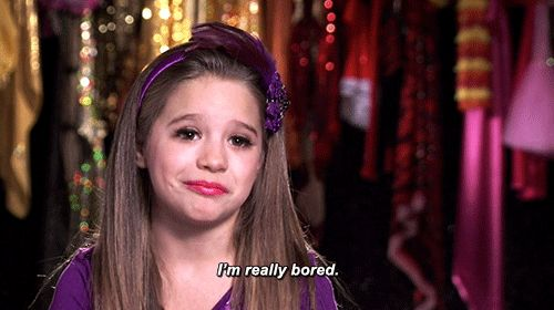 """…but the girls understand when it is time. To. GO! 