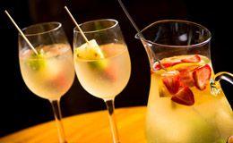 Clericot com vinho branco e refrigerante de limão é fácil de fazer - Receitas - Receitas GNT