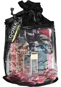 Designed as a ritual to help guide you through an indulgent sensual experience. Set includes: Arousing Bath Essence,Body Wash,Body Lotion,Linen Spray,Lip Balm,Pheromone Perfume Gel and Pink Rose Petals!