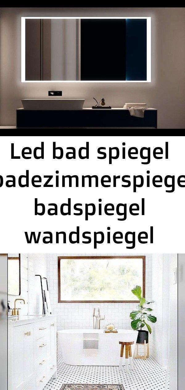 Bad Badezimmerspiegel Badspiegel Badz Led Mobel S150