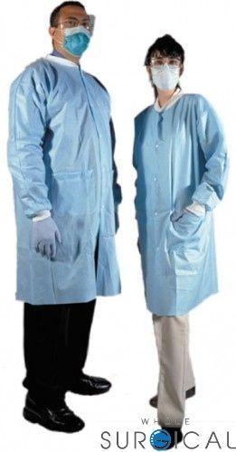 AMD Ritmed - 8019 - Lab Coat, X-Large, Blue, 10/bg, 5 bg/cs