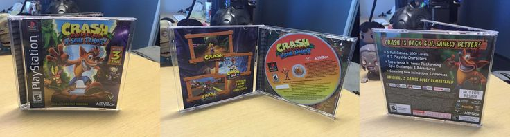 This is how Sony employees were presented wth Crash Bandicoot N-Sane Trilogy today http://ift.tt/2tuZ6Sp