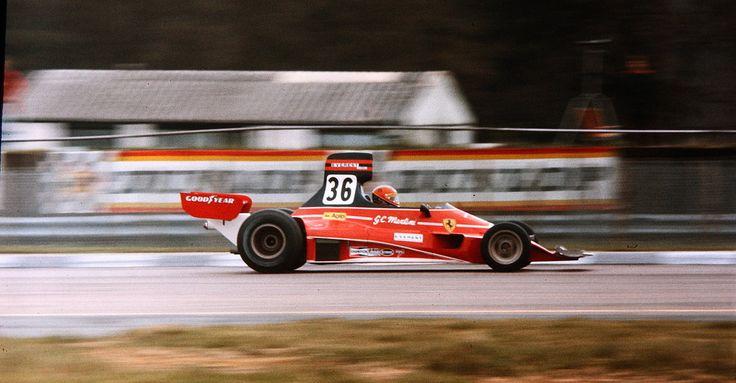 Silverstone 75 Gian Carlo Martini