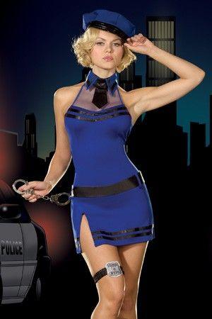 Sexy Police Madam Costume