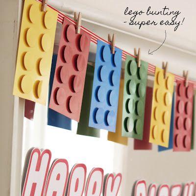 lego bunting