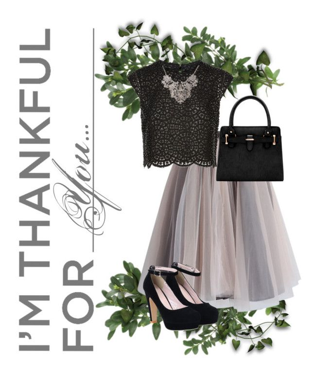 """Im Thankful for You"" by modesty-teen ❤ liked on Polyvore featuring Costarellos, Chicwish and imthankfulfor"