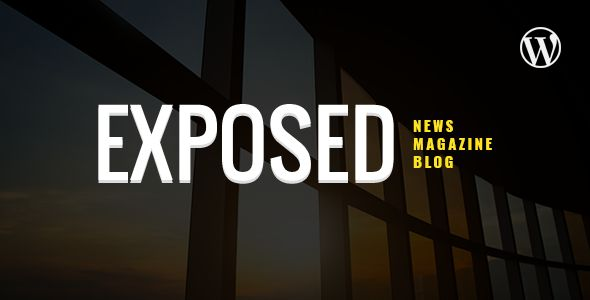 Download Exposed- News Magazine and Blog WordPress Theme Nulled Latest Version