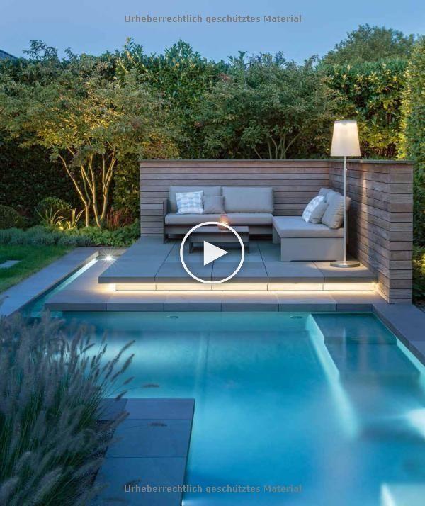 Vorher Nachher Gärten Modernes Gartendesign Richtig Planen Amazon De Manuel Small Pool Design Swimming Pools Backyard Modern Garden Design