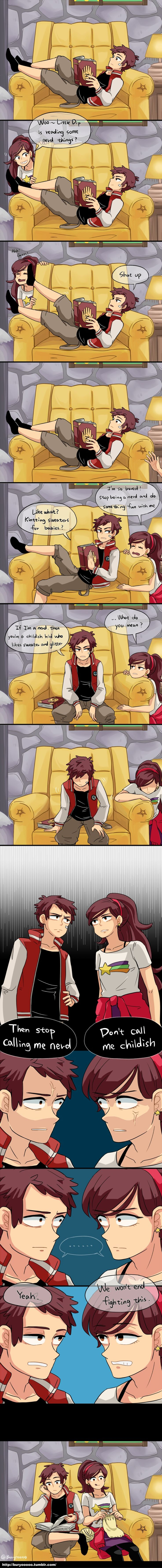 i would totally watch this if this was in Gravity Falls...