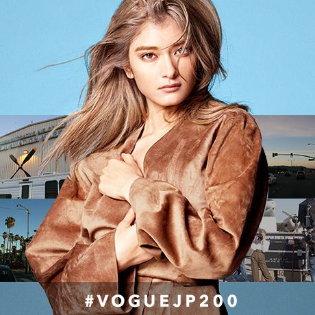 Behind The Scrnes:: ローラが『VOGUE JAPAN』200号をモードにお祝い!|ファッション特集(流行・モード)|VOGUE JAPAN