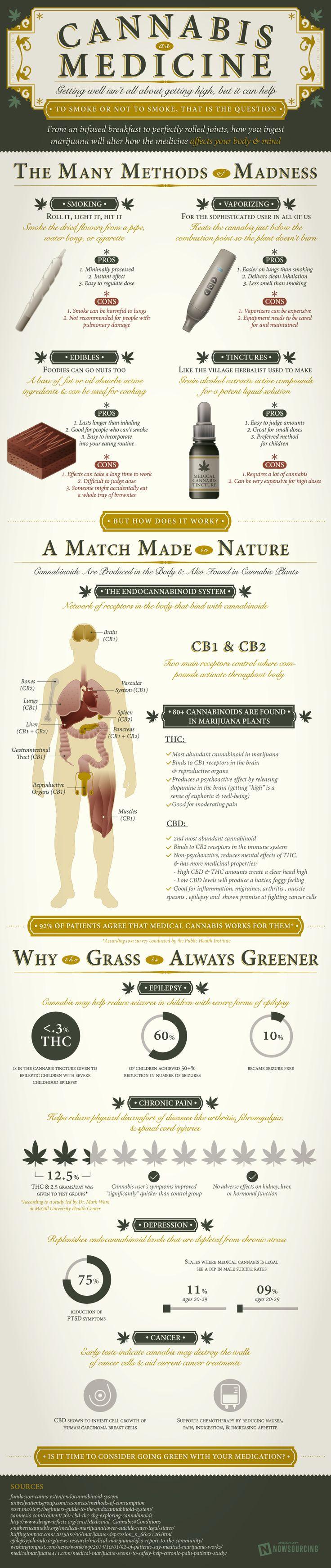 Cannabis as Medicine #Infographic #Health #Medicine