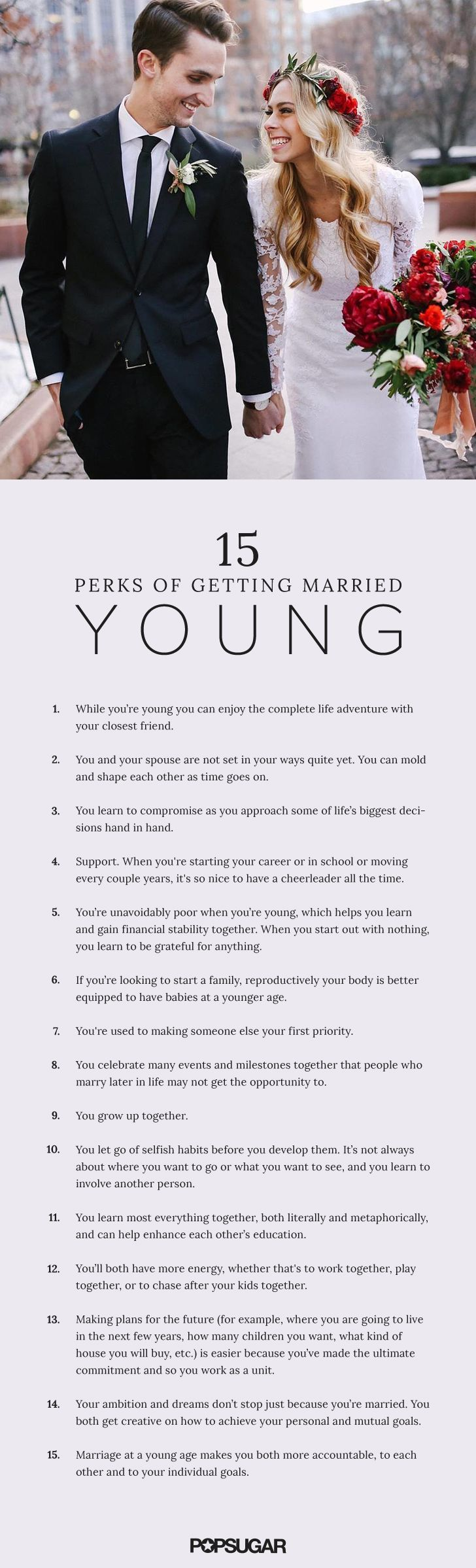 15 Perks Of Getting Married In Your Early 20s Or Even Younger
