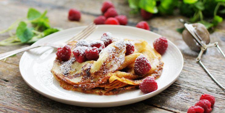 Pandekager uden æg - Opskrifter - Amo