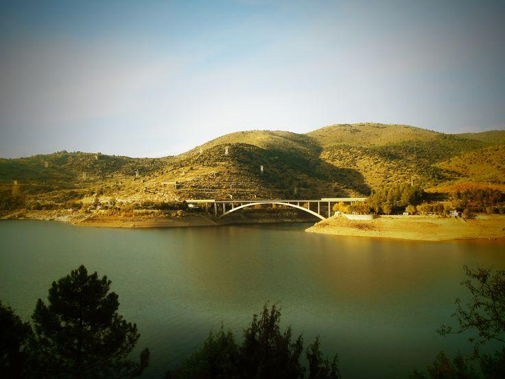 Puente Arco en El Burguillo.
