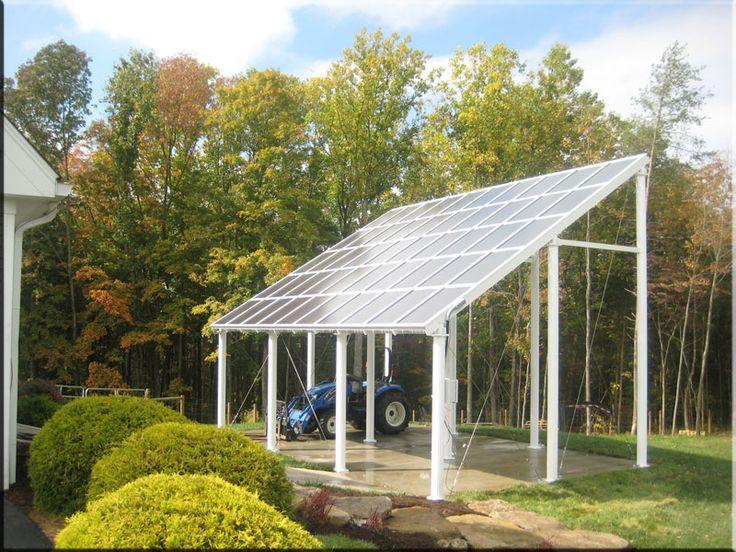 Custom Steel Carport Designs : Best images about solar carport on pinterest