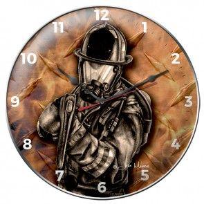 AXE MAN CLOCK