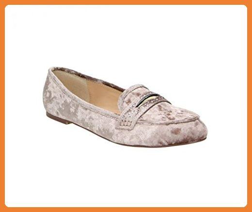 FITTERS FOOTWEAR - Damenschuhe Ballerinas - Alena in taupe velvet - Schuhe in Übergröße - Schuhgrößen 42 bis 45, Schuhgröße:EUR 44 - Ballerinas für frauen (*Partner-Link)