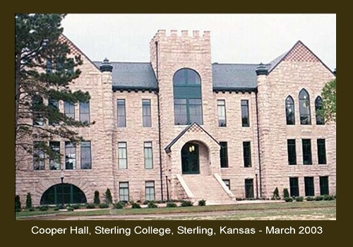 Cooper Hall at  Sterling College  in Sterling, Kansas
