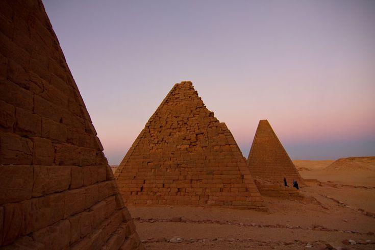 Karima pyramids, Sudan