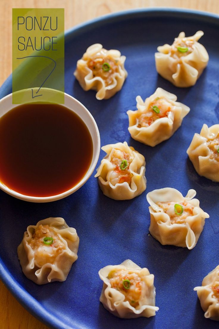 Shrimp Shu Mai. These are seriously easy to make and take less than 30 minutes to prepare. Impress your guests with this #appetizer!