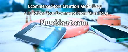 How to create online store - Nwebkart  This is the reality of the market and you have to face it on the start of your business. Remember, a newly launched website needs a good marketing technique to promote it well in the online and offline market. Putting on effort in the advertising of your business could result in good sales at the instant. But, if your marketing budget is minimal and you want an instant sale then you should go for SEO, Social media & other popular options.