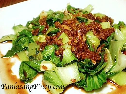 Here is another healthy vegetarian recipe dedicated to our vegan readers, Bok Choy in Garlic sauce. Before anything else, I would like to apologize for not being able to respond to your comments and emails in a timely manner.