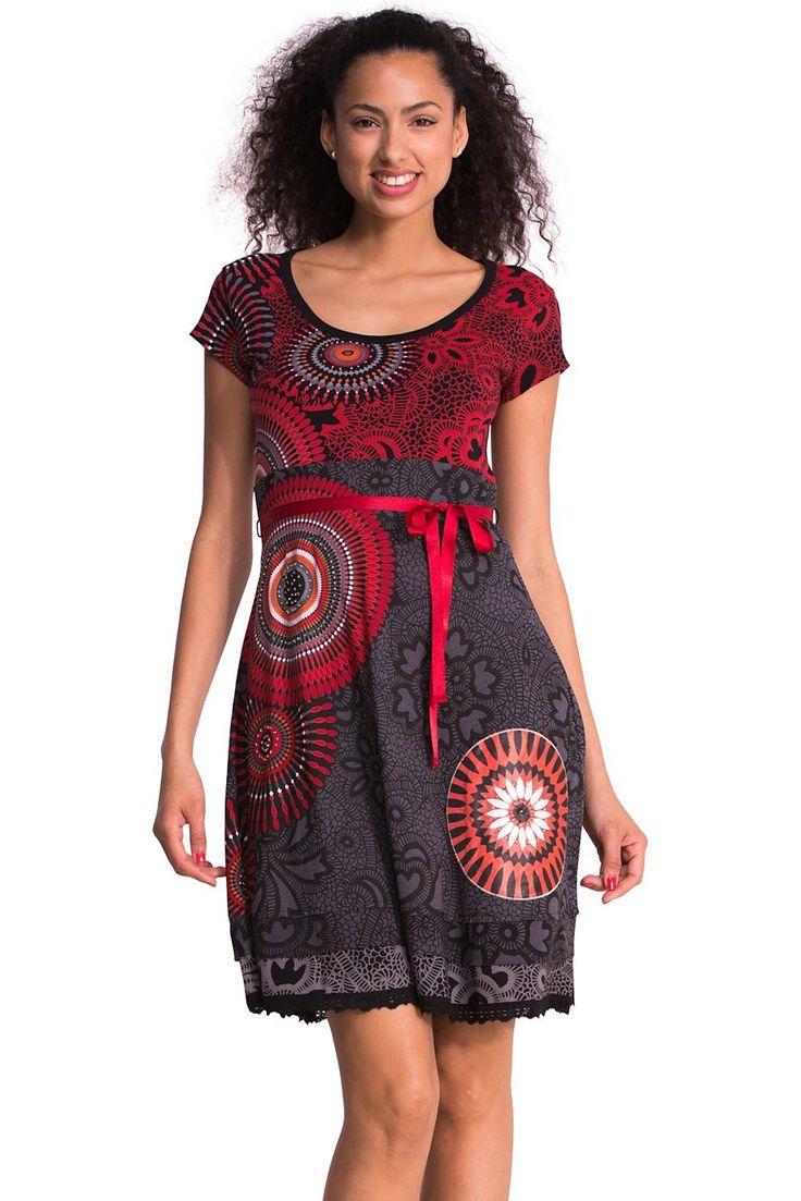 Desigual kleid vestoregon der stil baumwolle und material Ciaafrique fashion beauty style