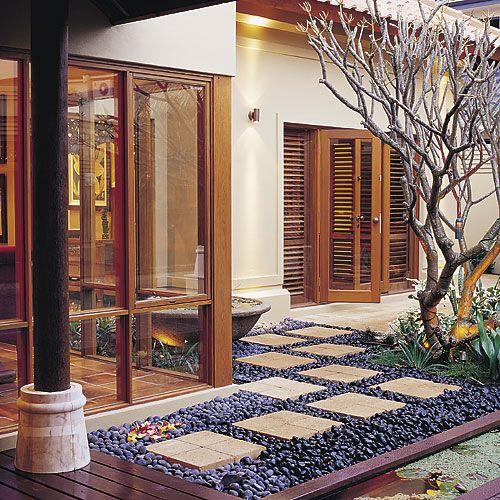 Bali Home Decor: Exterior Ideas