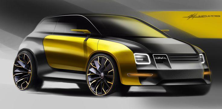SD#57_OKAdesign #car, #design, #automotivedesign, #cardesign, #transportdesign, #vehicledesign, #concept, #conceptcar, #sportcar, #sketch, #carsketch, #sketching,#quick #cardrawing, #photoshop, #future, #wheels, #electric, #supecar, #engine, #racer, #oka, #black, #yellow