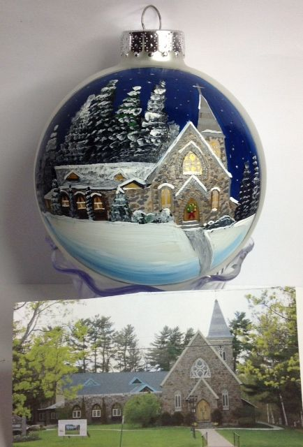 Custom Church Ornaments.