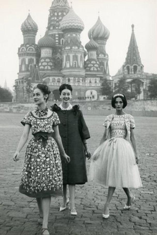 hollyhocksandtulips:  Russia, 1950's