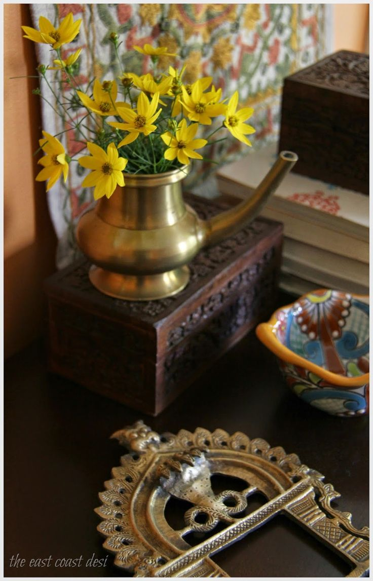Zagreb In A Traditional Antique Brass Kindi From Kerala India Indian Decor