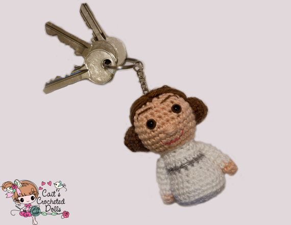 Disney Star Wars gehaakte prinses Leia door CaitsCrochetedDolls