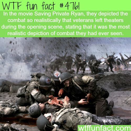 The most realistic war movies - WTF!?!  not-so-fun facts!
