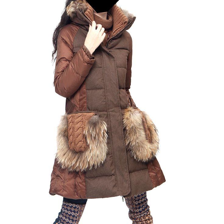 Пальто с меховыми карманами (227 фото): с накладными ...