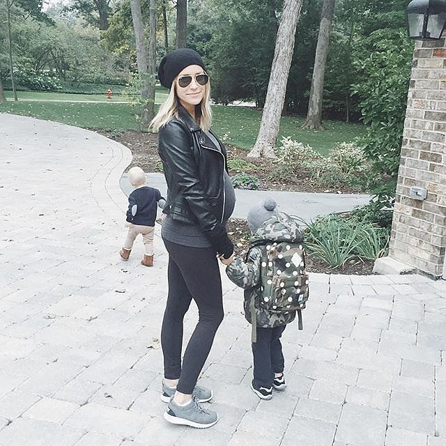 Kristin Cavalleri and her little boys