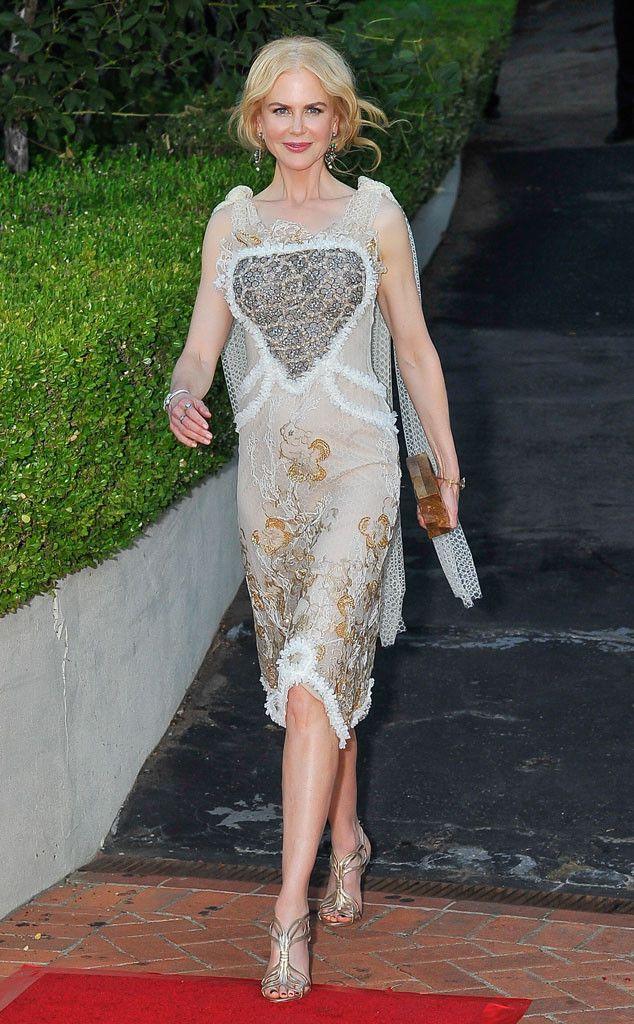 Nicole Kidman steals the show as she debuts three stunning
