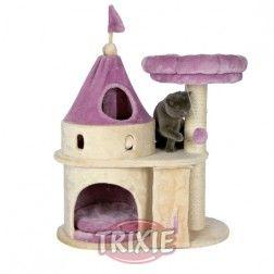 Rascador Para Gatos Castillo My Kitty Beige Y Púrpura Trixie
