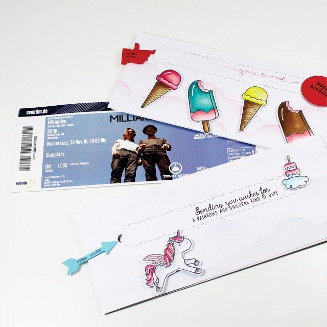 Ticket-Verpackungen