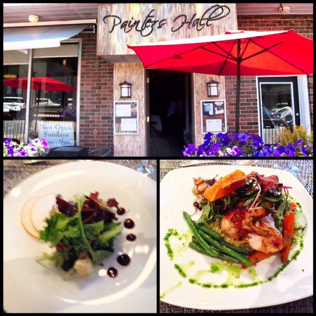 """For an unforgettable meal, try out a favorite local gem """"Painter's Hall"""" in downtown Barrie"""
